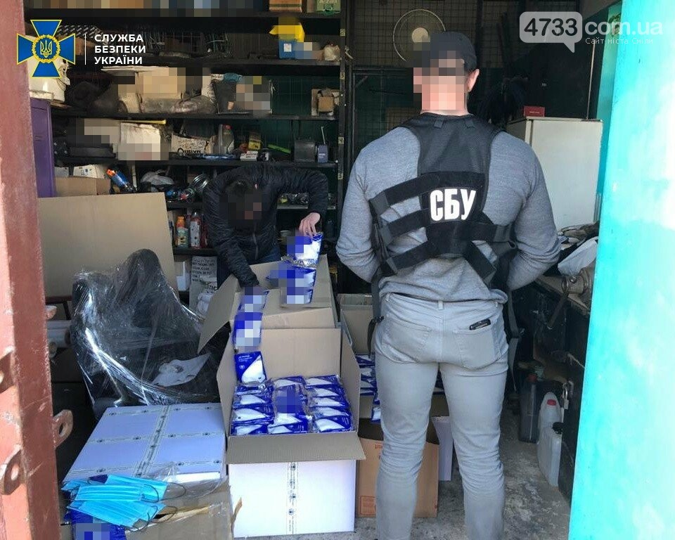 На Черкащині СБУ блокувала незаконне вивезення до Італії масштабної партії медичних масок, фото-2