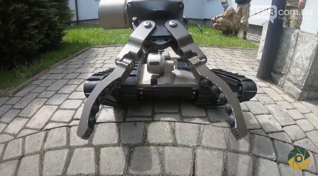 Українські курсанти практикуються з iRobot 510 PackBot, фото-2