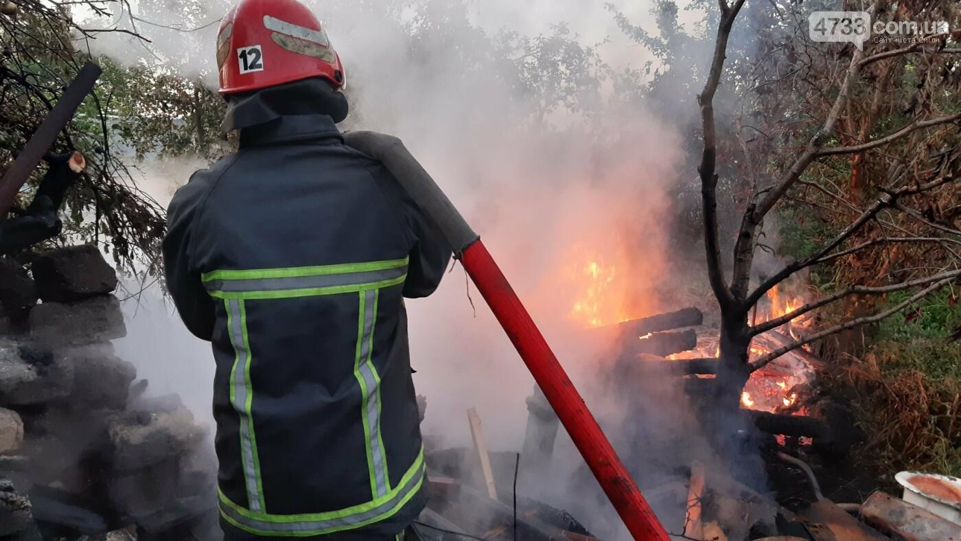 У Смілі тушили пожежу у дровнику, фото-2