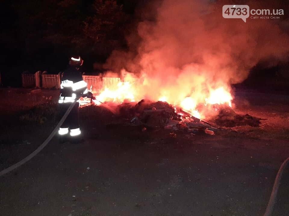 Смілянські рятівники уночі гасили пожежу у провулку Кооперативному, фото-2