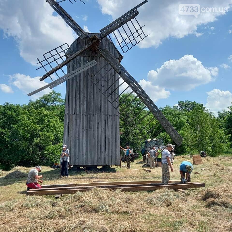 Лісгосп Сміли допоміг у реставрації історичного вітряка, фото-2