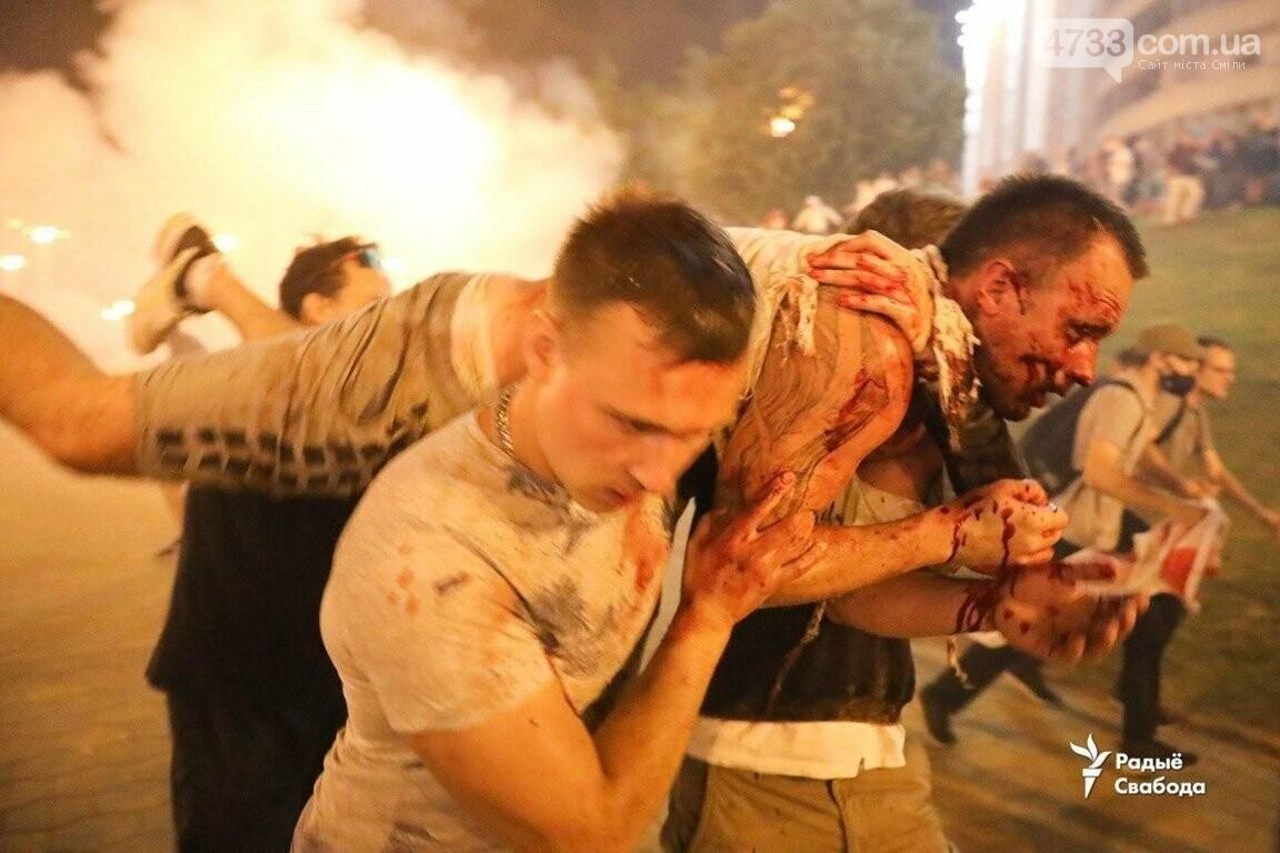 В Білорусії ллється кров - по даним державного екзіт-полу Лукашенко лідирує на президентських виборах, фото-7