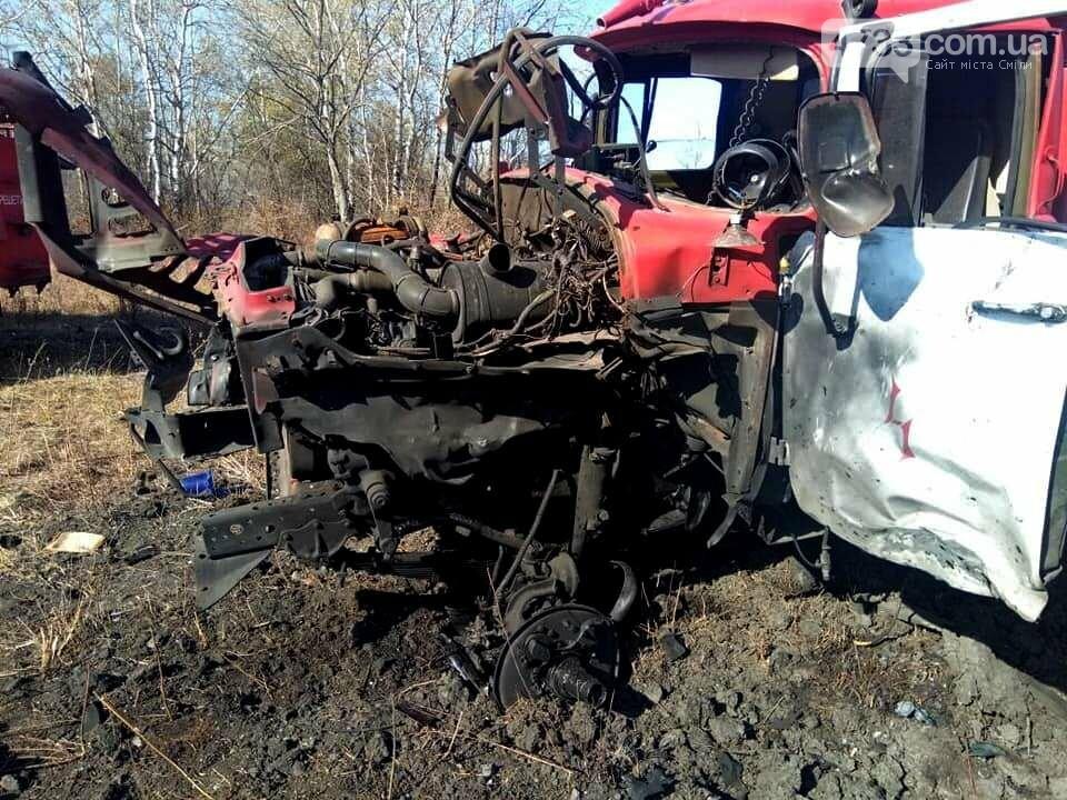 В наслідок пожеж, що вирують на Луганщині, гинуть люди, на мінах підривається рятувальльна техніка, фото-1