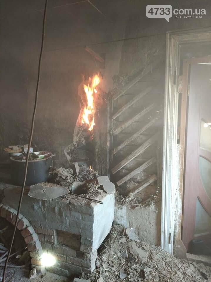 У Березняках через несправну піч загорівся будинок (ВІДЕО), фото-4, ДСНС