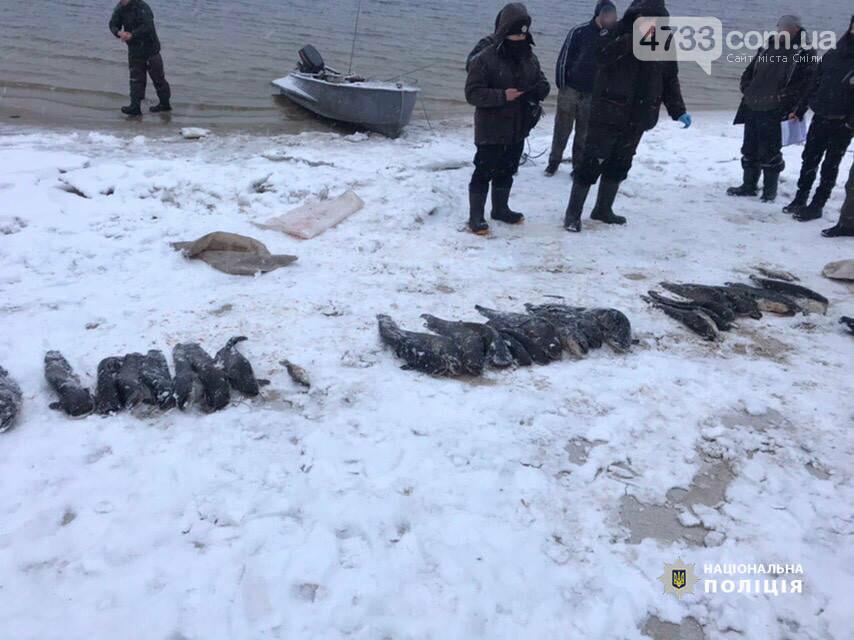 За незаконний вилов риби жителям Черкащини загрожує до 3-х років ув'язнення , фото-2, Національна поліція