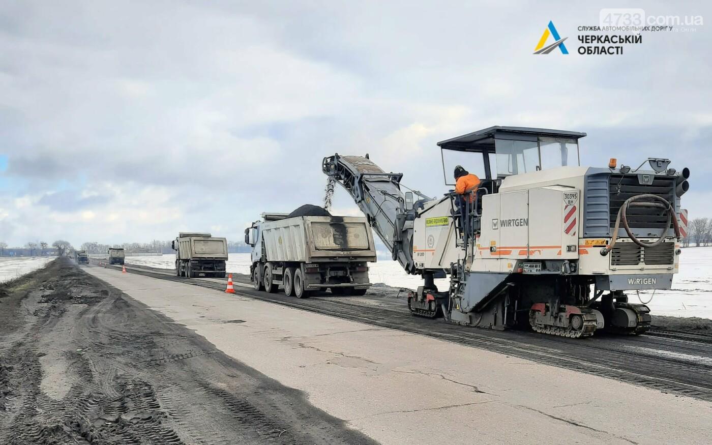 Розпочалися поточні ремонтні роботи на автодорозі від Черкас до Сміли. Рух ускладнено, фото-6