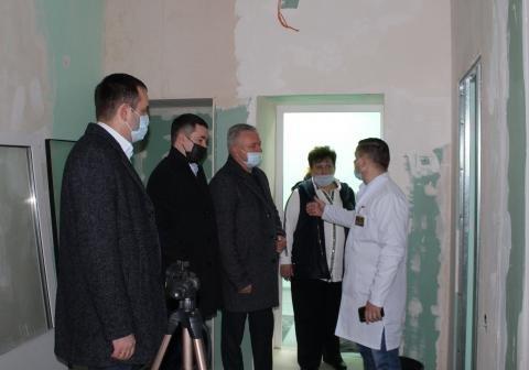 У міській лікарні проводиться реконструкція  та придбано новий сучасний томограф, фото-3